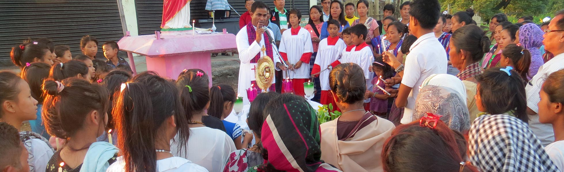 "In the diocese of Miao in India a priest has to be ""all things to all men"""