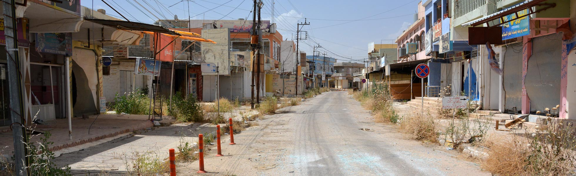 Telskuf in Iraq: ISIS left, destruction remains