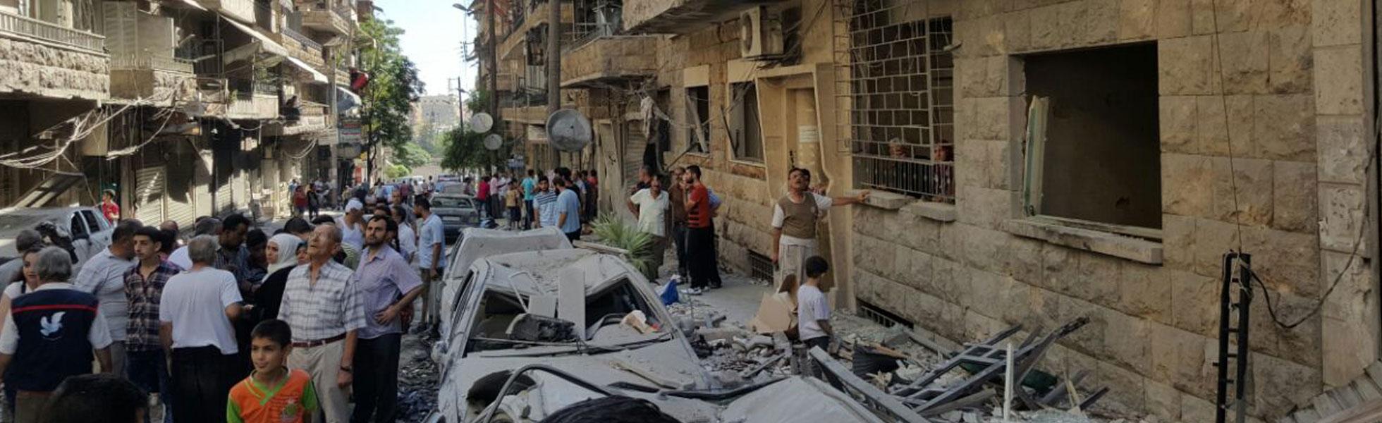 Aleppo: the dark city