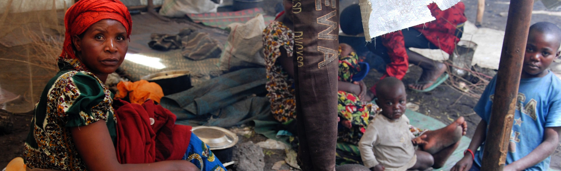 """República Democrática del Congo: """"Nadie nos visita salvo ustedes""""."""