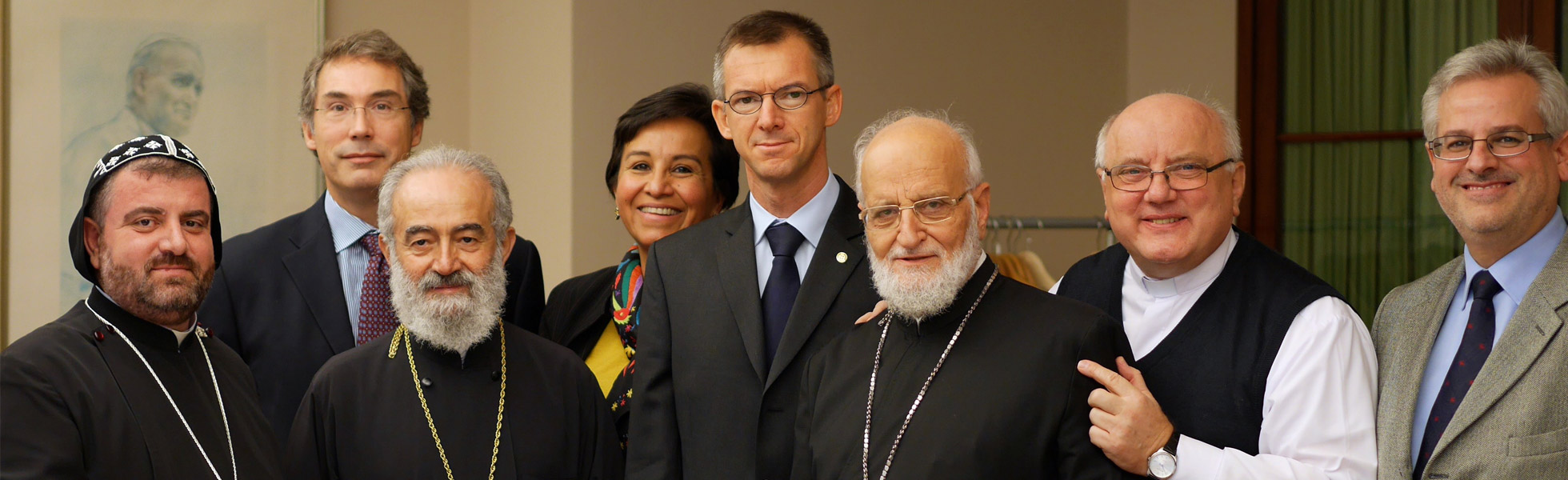 "Syria: Representatives of the Catholic and Orthodox churches in Brussels and Geneva as ""Ambassadors of the Children"""