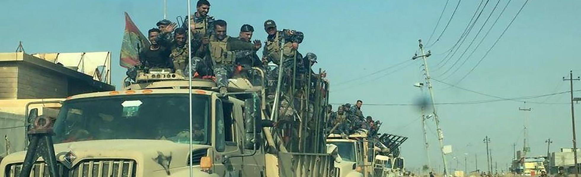 """""""La gente regresará cuando Mosul sea liberada"""""""
