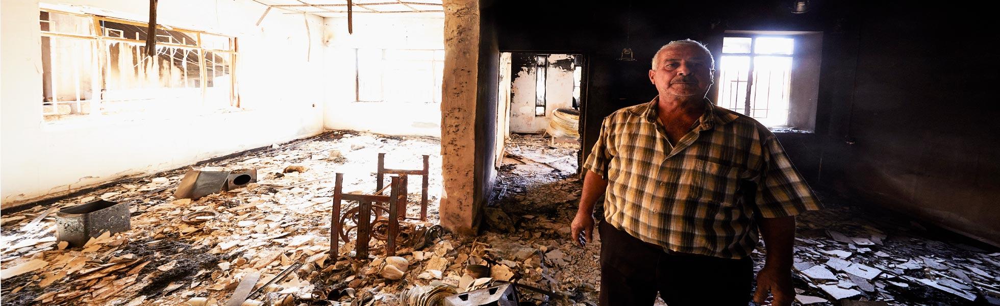 Iraq: los habitantes de Qaraqosh evalúan los daños causados por la ocupación – El EI utilizó una iglesia como campo de tiro