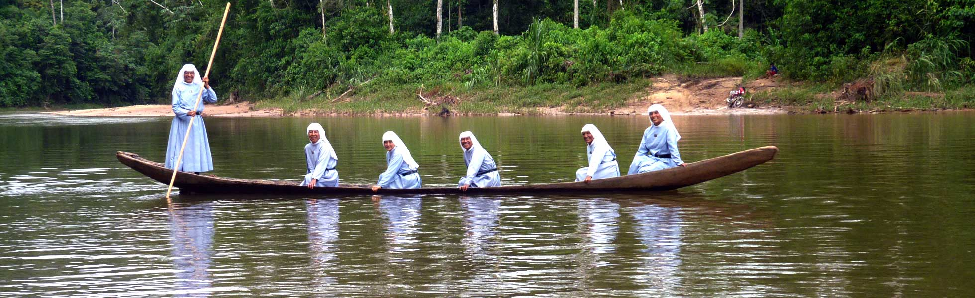 In Paraguay religious sisters work there, where priests can rarely visit