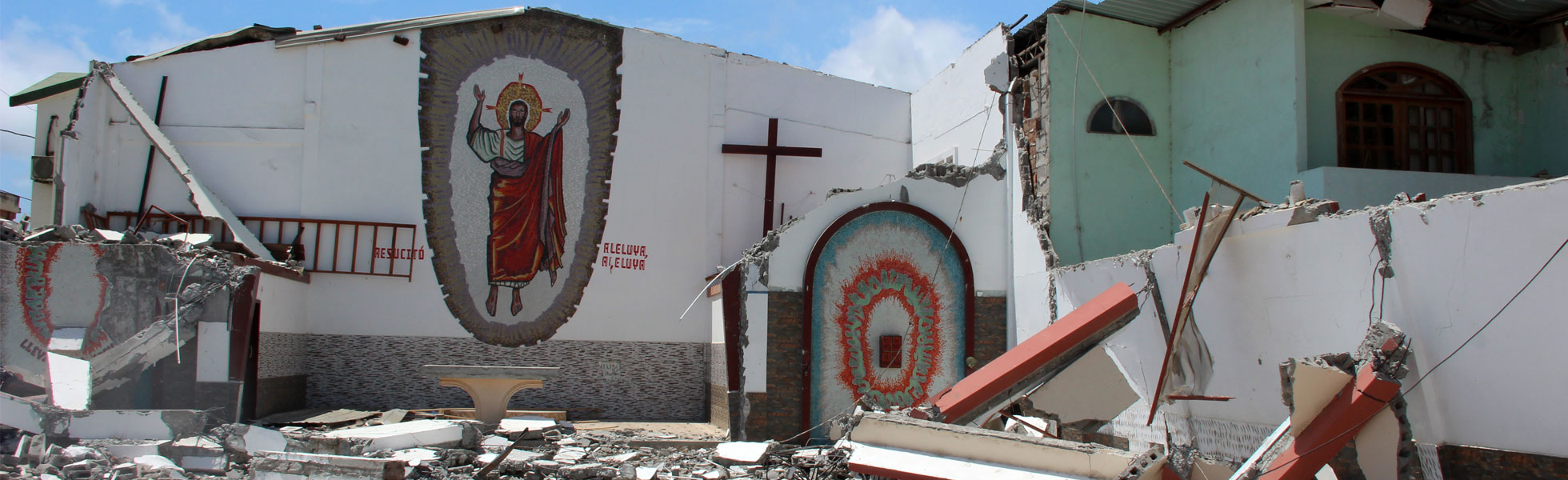 One year after the earthquake in Ecuador: Don't forget us!