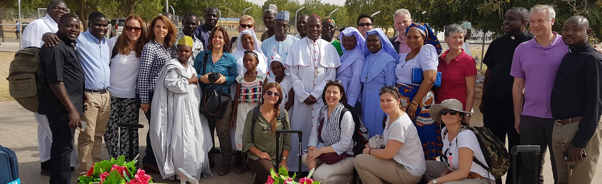 ACN delegation visits the dioceses most seriously affected by Boko Haram in Nigeria