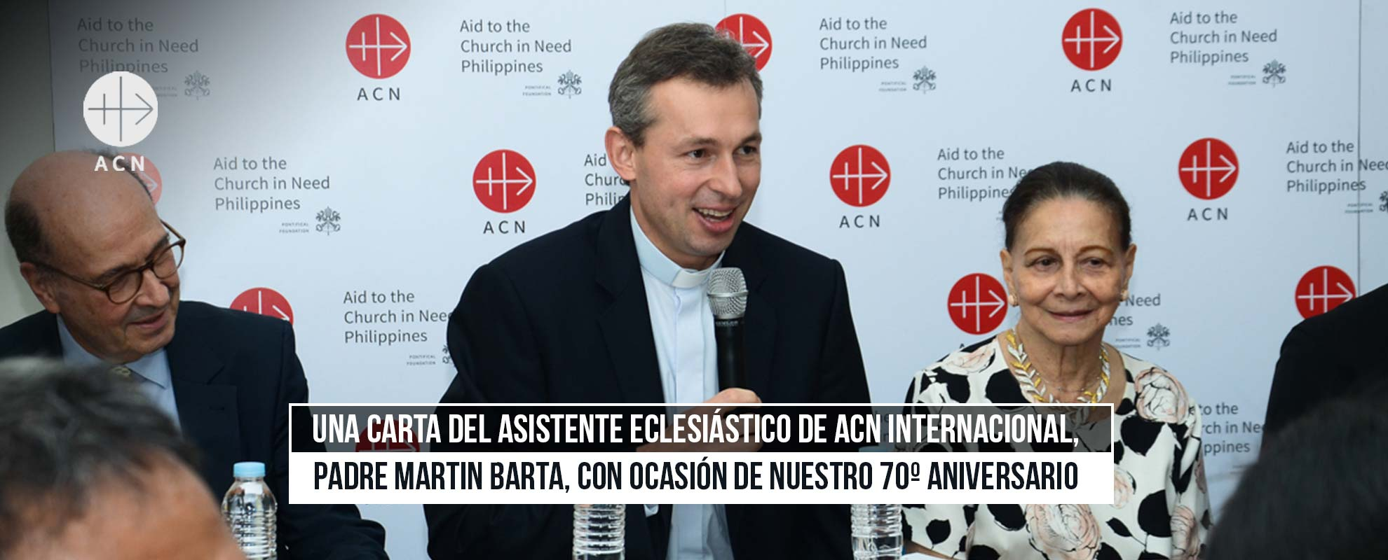 A letter by ACN International's Ecclesiastical Assistant, Father Martin Barta, on the occasion of our 70th anniversary
