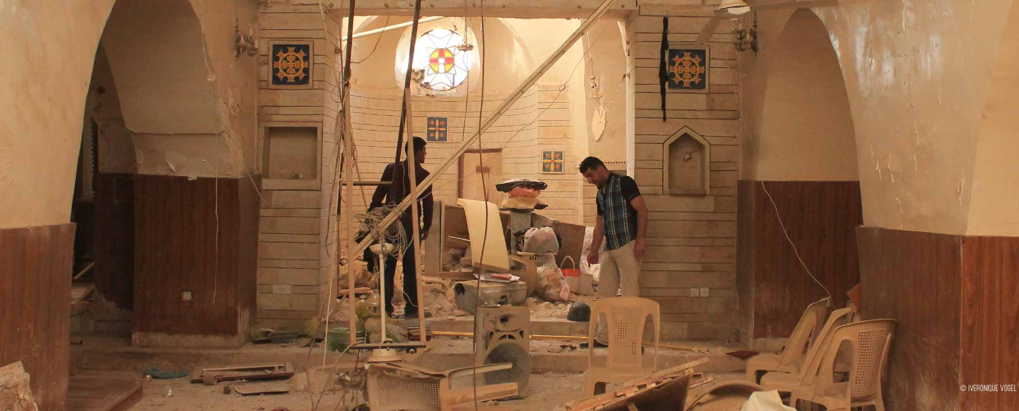 The rebuilding begins on the Plains of Nineveh