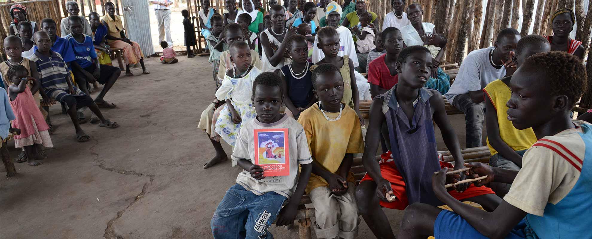 Bicicletas para 30 catequistas de Gambella