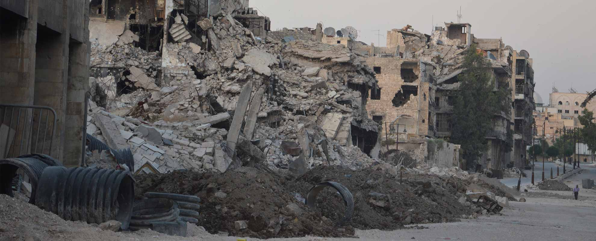 "Six months of a tense peace in Aleppo – ""Unfortunately the situation is not going to change greatly"""