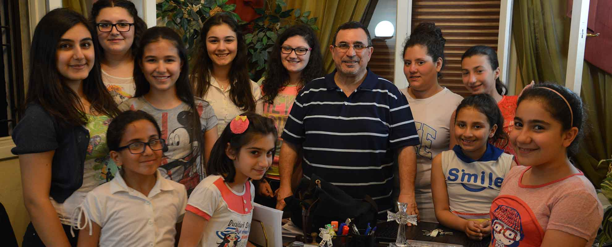 "Summer camps for young people and families from Aleppo. ""Your generosity is helping us to realize that we are not alone."""