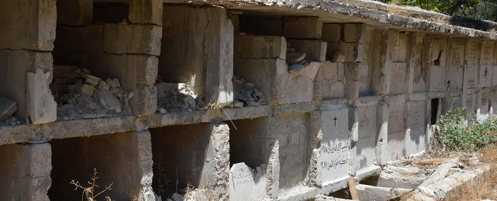 En Alepo, ni siquiera los muertos pueden tener paz