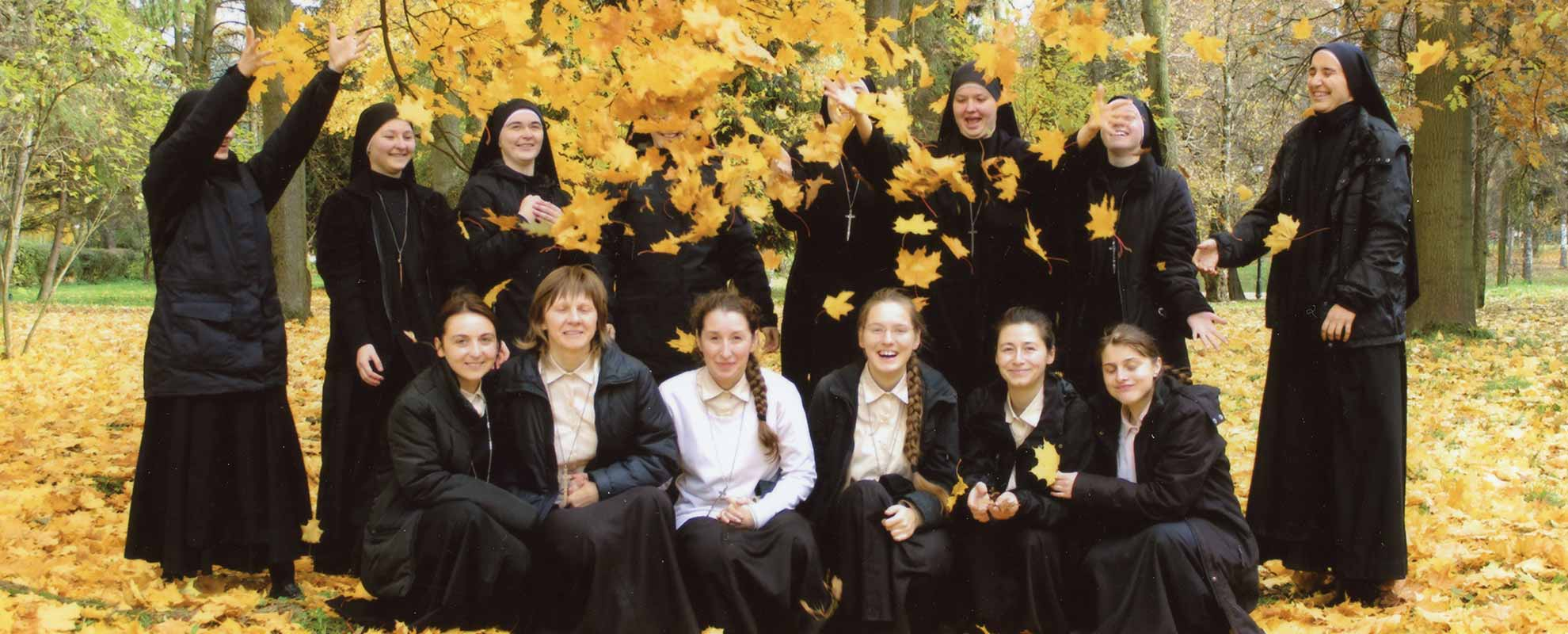 Ukraine:  Help for the formation of 16 young novices of the congregation Handmaids of the Lord and the Holy Virgin of Matará in Ivano-Frankivsk