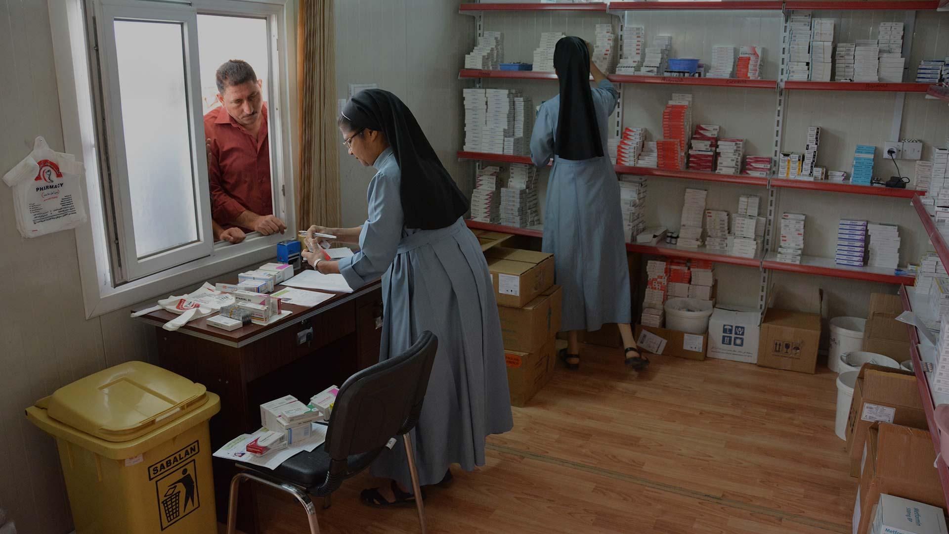 Irak: San José, una clínica con las puertas abiertas