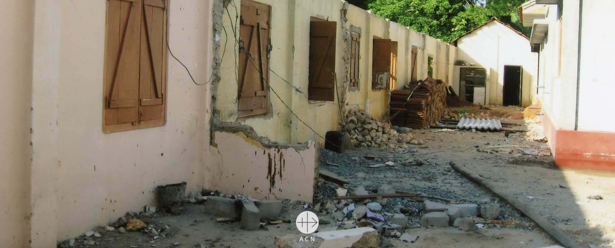 Sri Lanka: Help for the reconstruction of a convent rendered uninhabitable as a result of the civil war