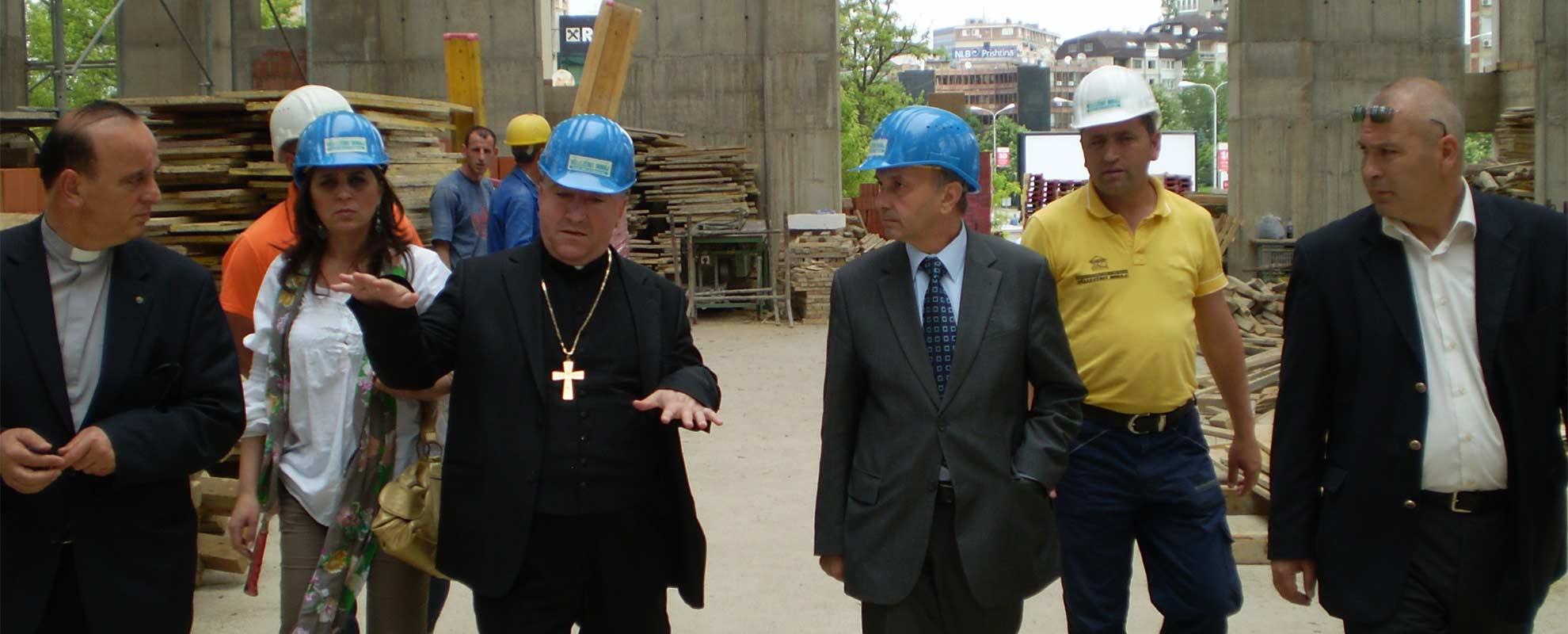Primera catedral consagrada a la Madre Teresa de Calcuta en el mundo, construida en Kosovo con el apoyo de ACN