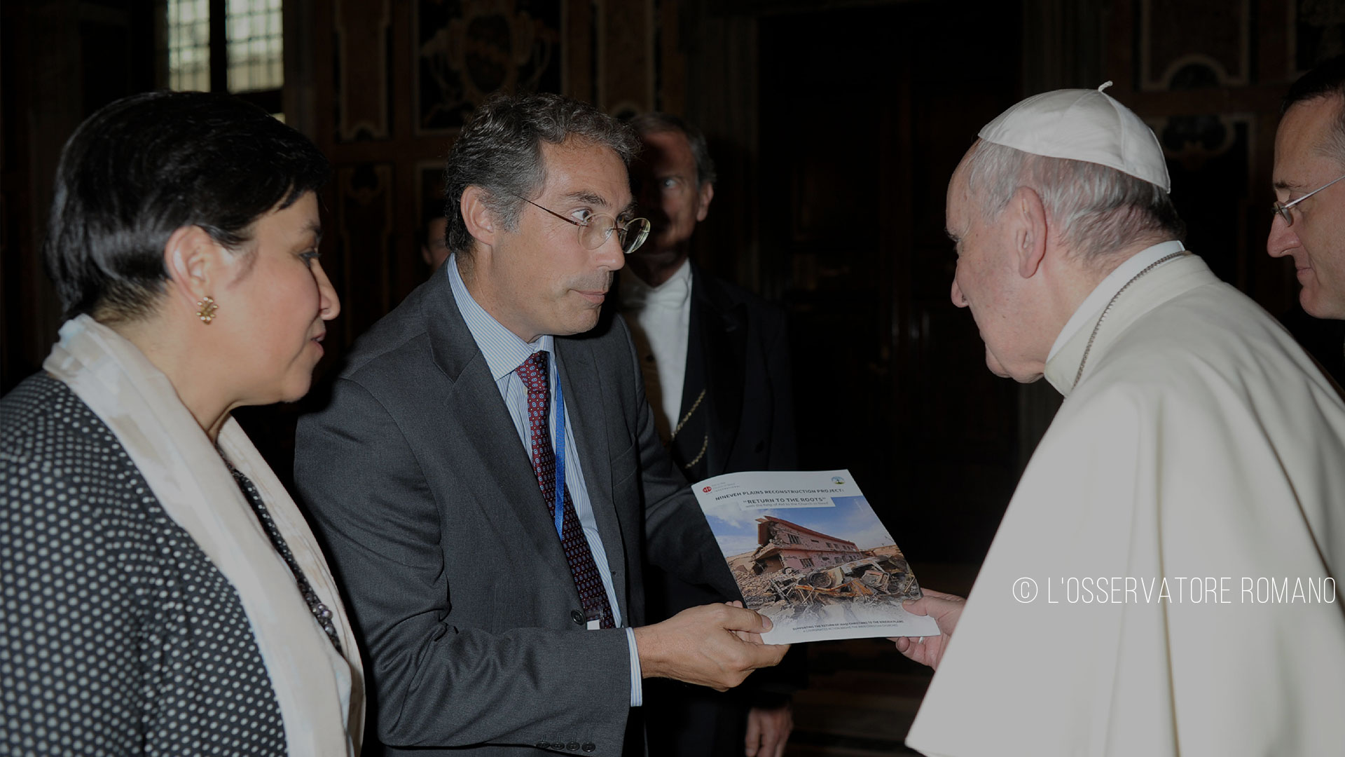 ACN informs the Holy Father about the Nineveh Reconstruction Project