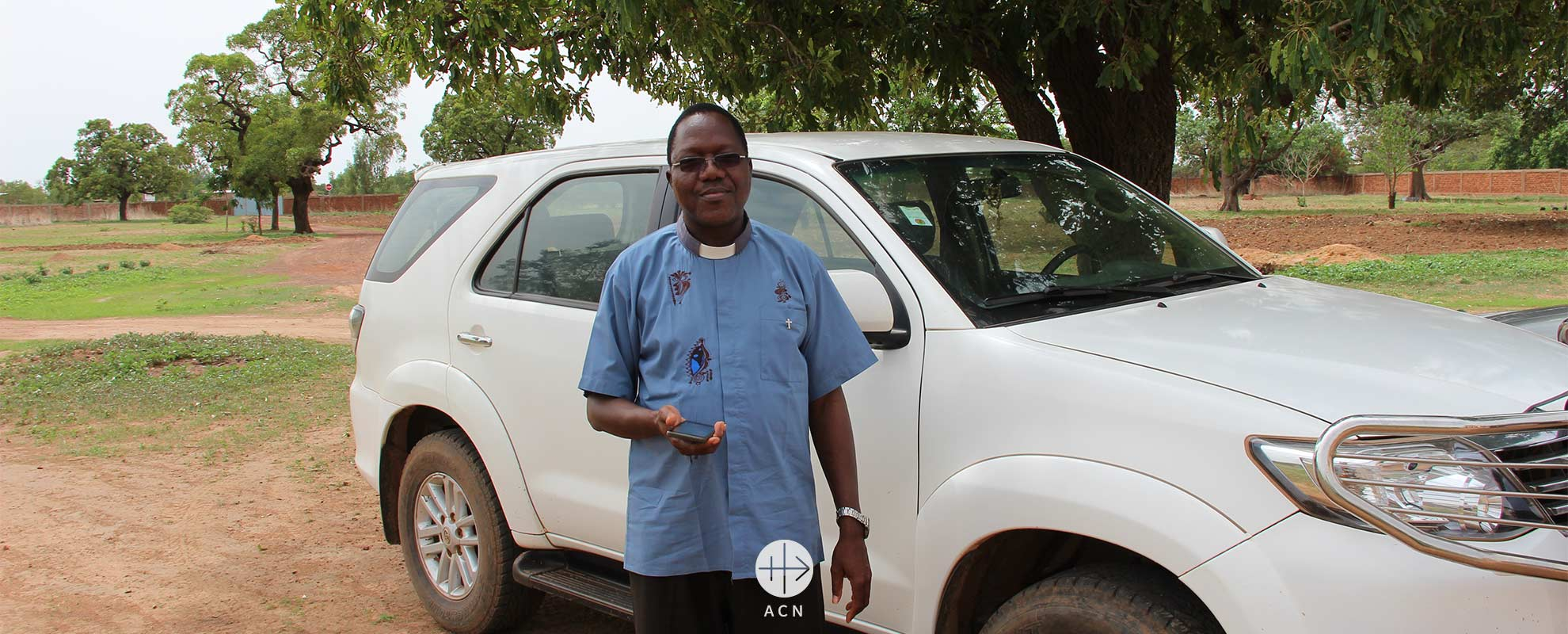 Success Story in Burkina Faso: a car for pastoral work