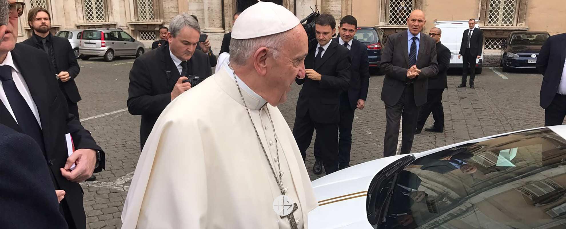 Un Lamborghini para apoyar a los cristianos en Níneve