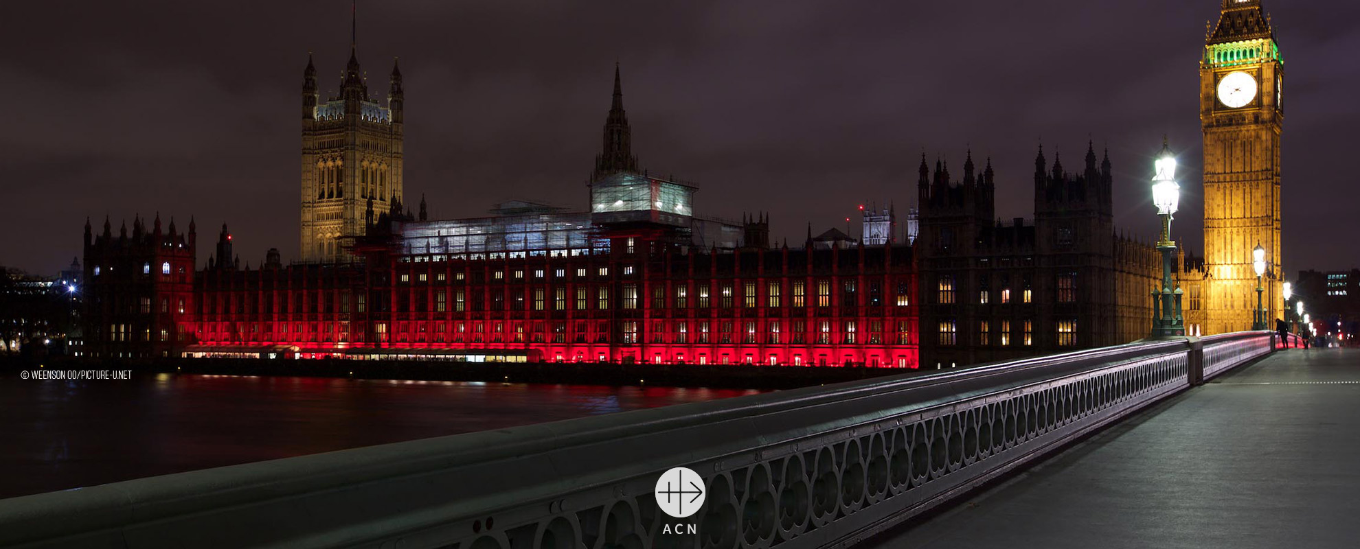 UK Parliament to go red for #RedWednesday