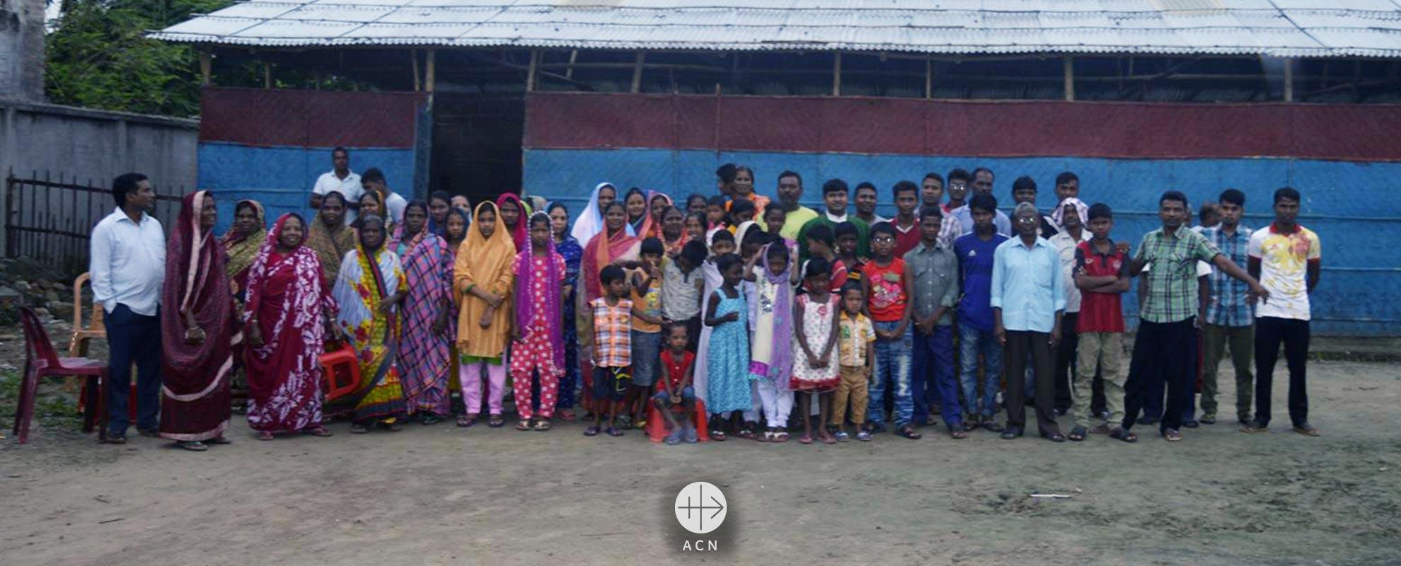 Bangladés: Ayuda a la construcción de una capilla en Rajshahi
