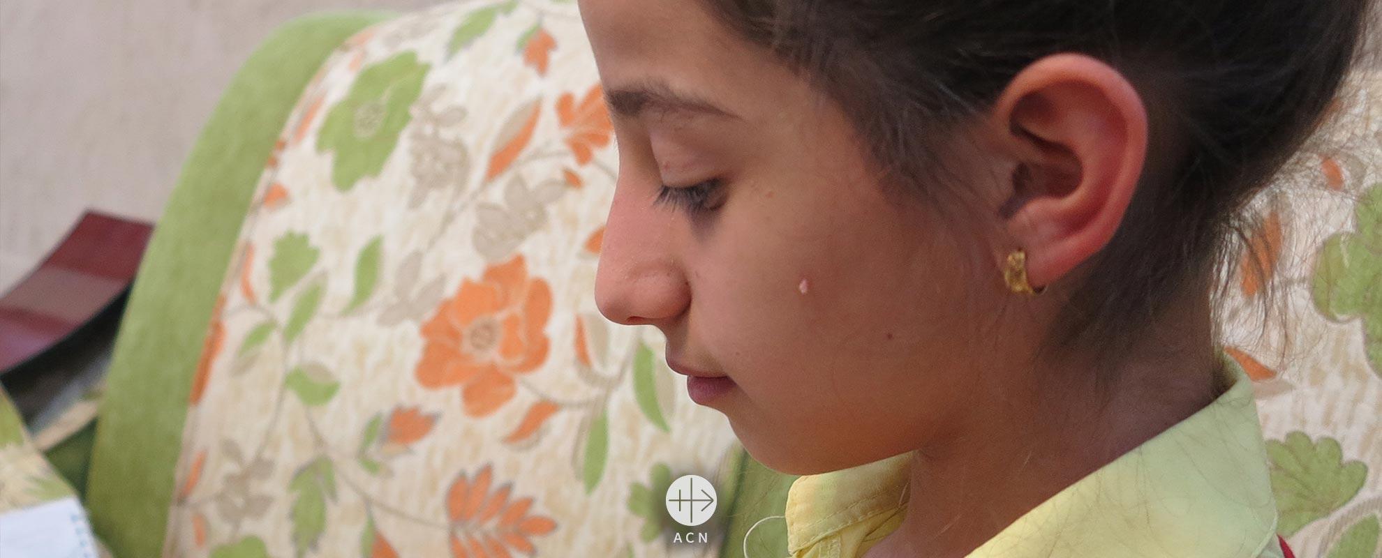 En la llanura de Nínive en Iraq, una niña se atreve a soñar