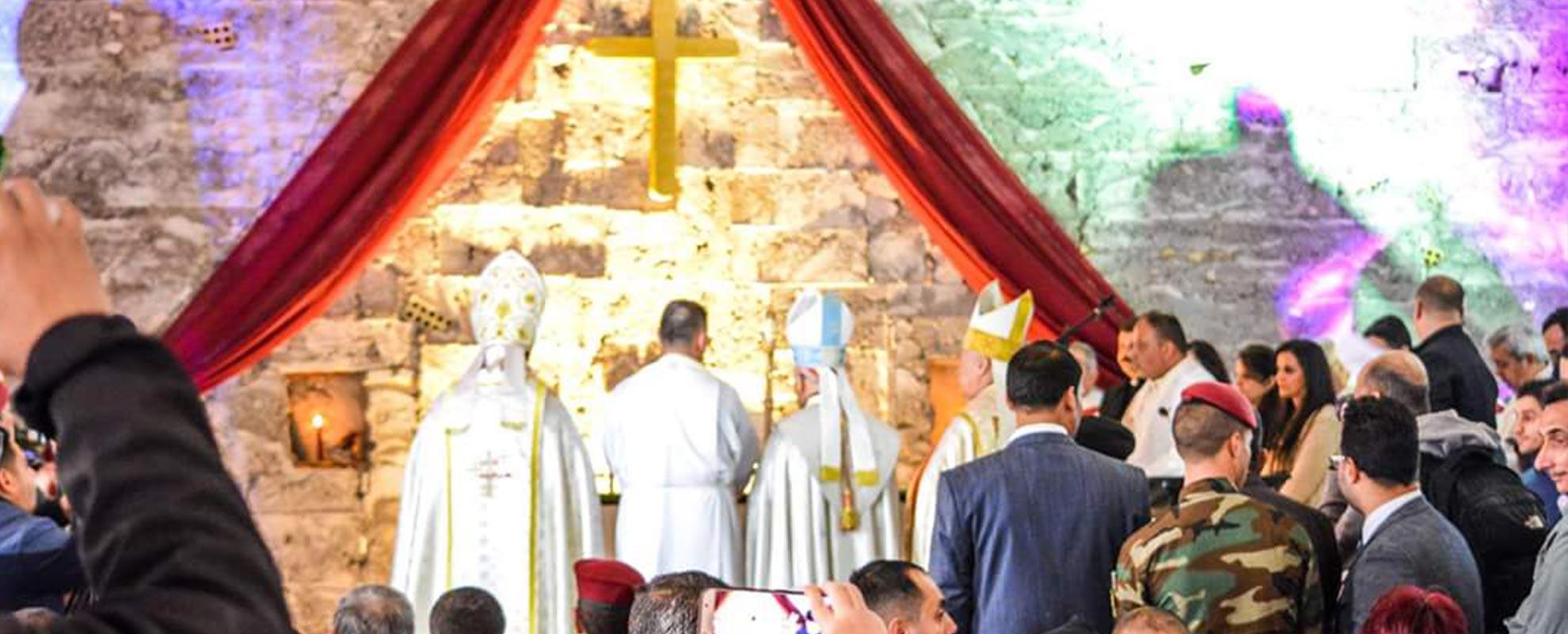 Un gesto de reconciliación de jóvenes musulmanes con cristianos del norte de Irak