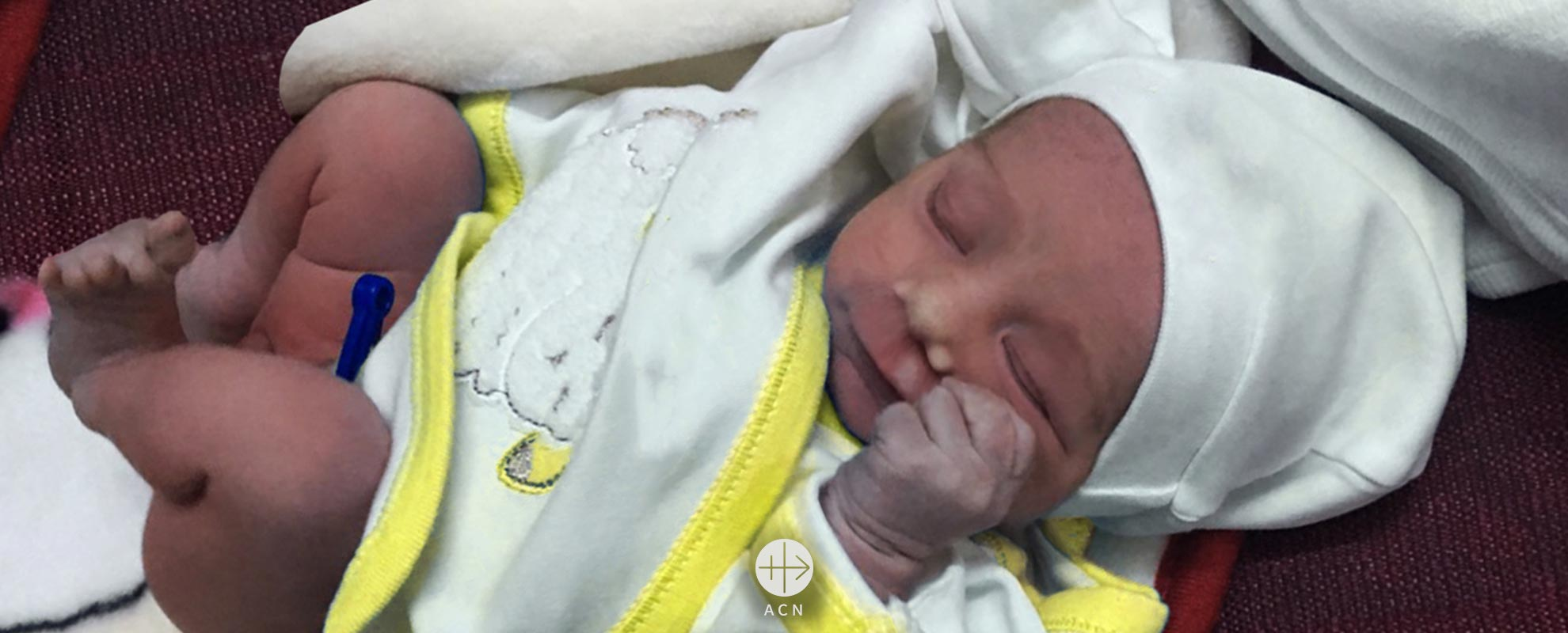 The baby saved from death in Iraq and adopted by a Christian family