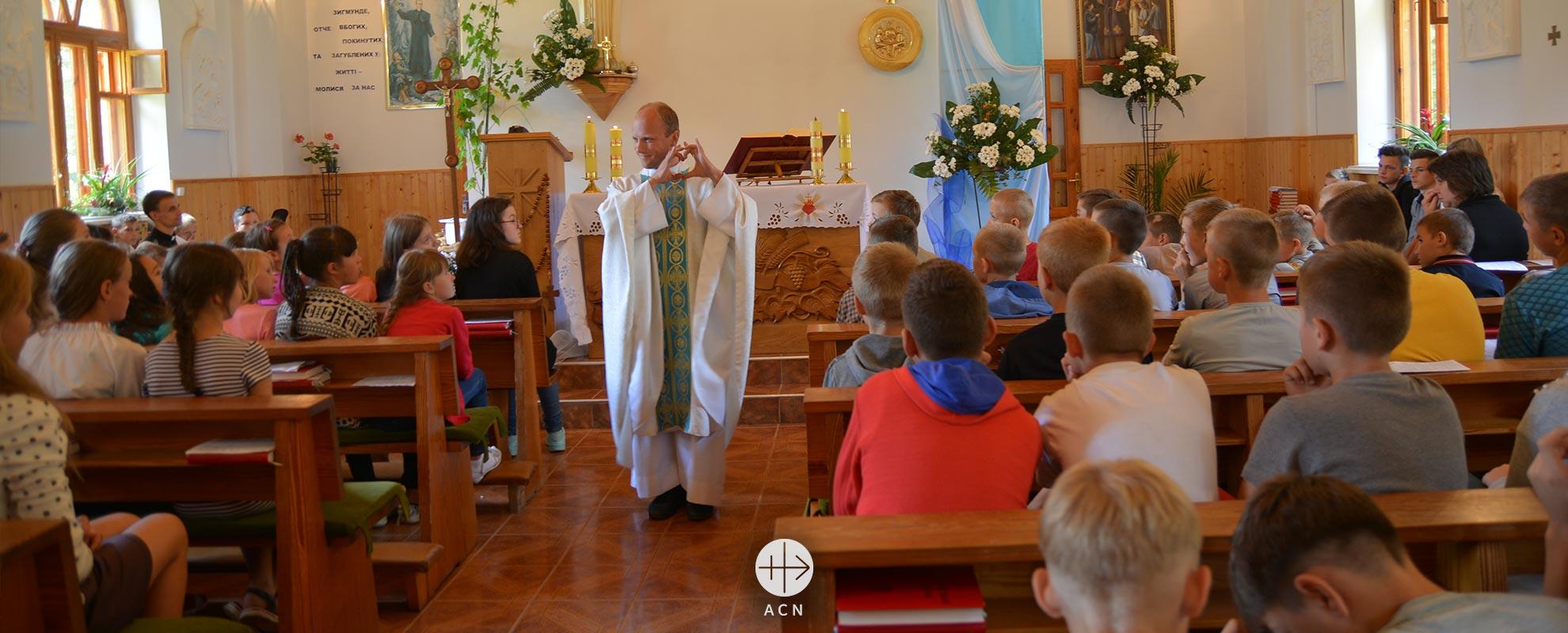 Ucrania: «La tarea más importante de la Iglesia es llevar a Dios a los hombres»