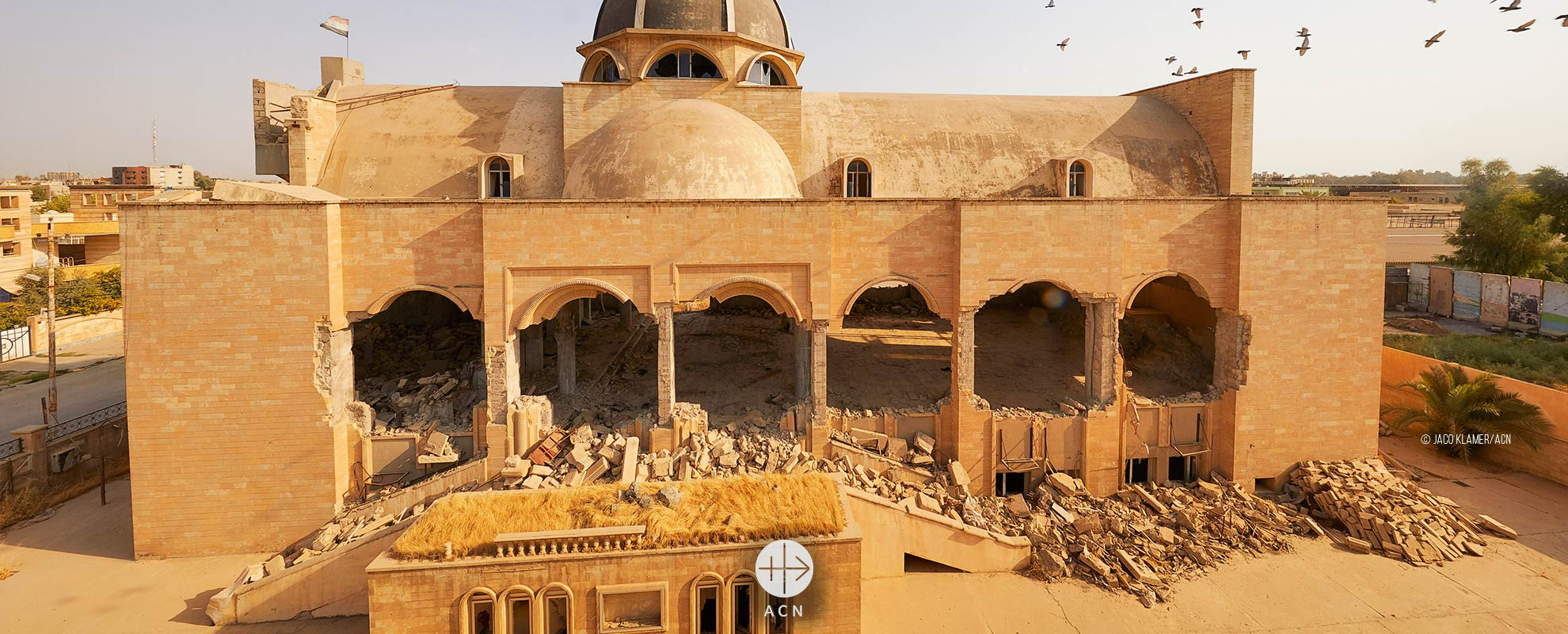 """""""I cannot believe my eyes when I see what ISIS has done to my church"""""""