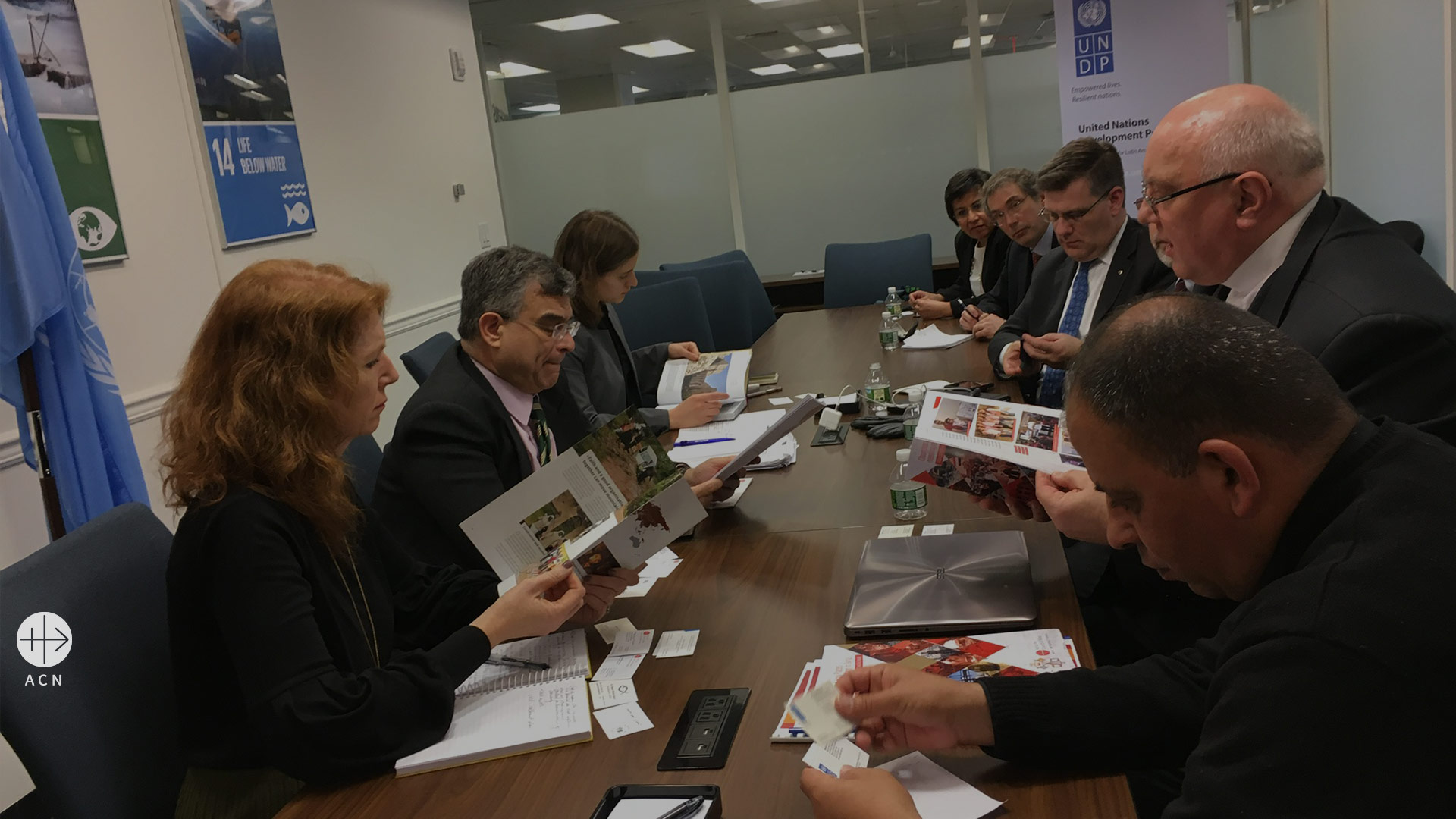 UNDP and ACN: High level meeting to channel more help to suffering Christians in the Nineveh Plains