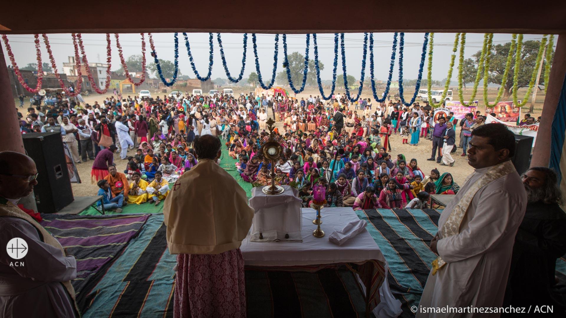 «No es nada fácil ser cristiano en la India hoy en día»