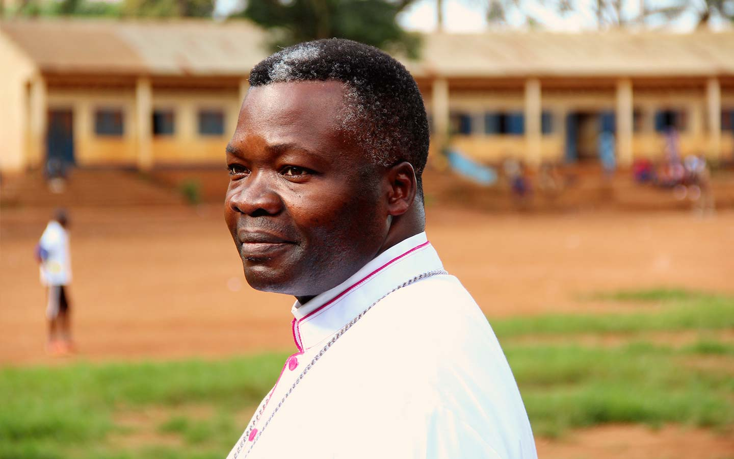 """Bishop of Congo-Brazzaville: """"I go seven days a week to the market"""""""