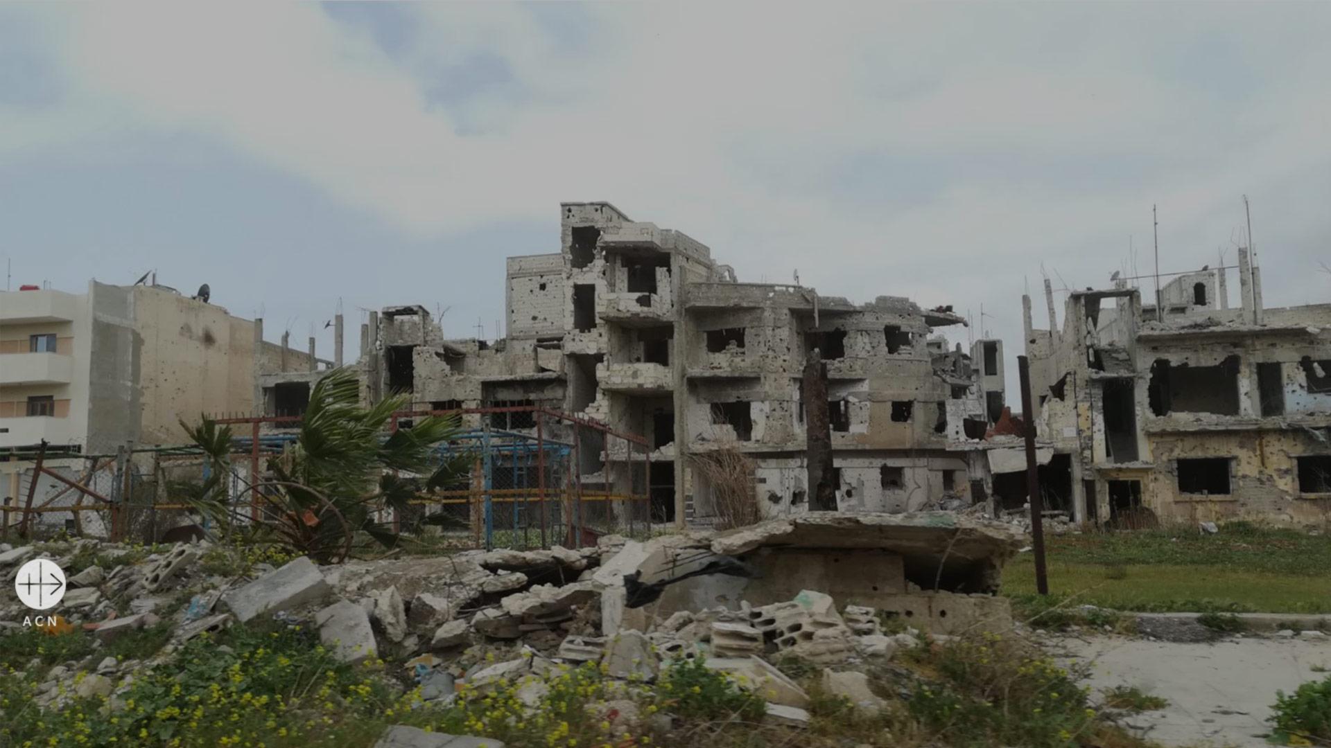 """Cristianos en Siria: """"La Semana Santa es nuestra vida: pasión, muerte y resurrección"""""""