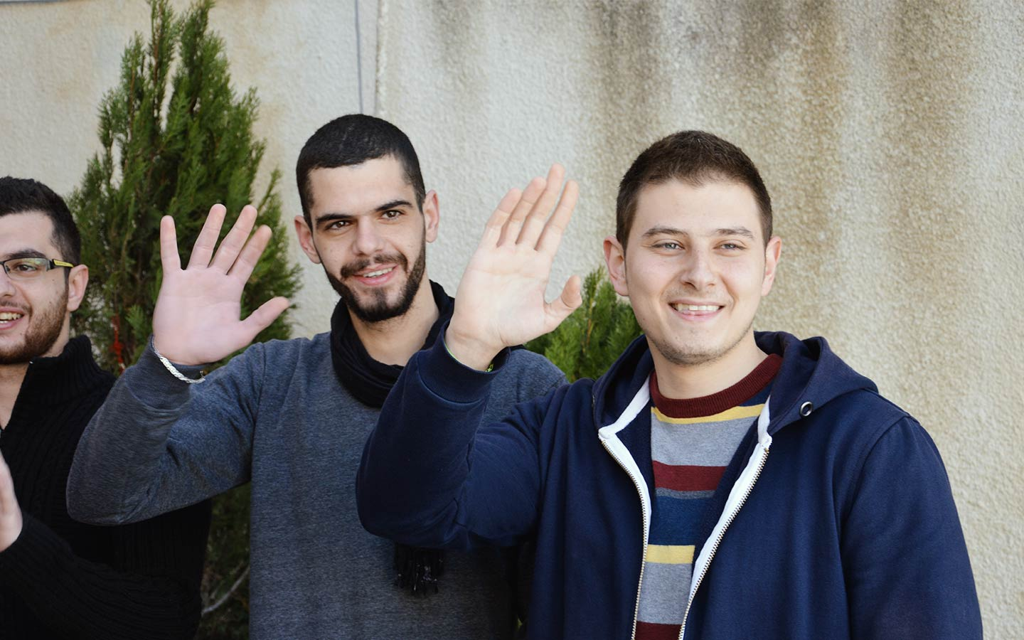The eleven of Marmarita: young volunteers coordinate aid for 2,000 families displaced by the war in Syria