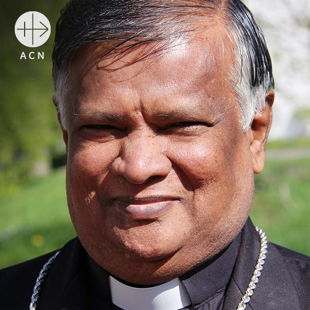 Mgr. Thomas Paulsamy, the bishop of the Dindigul, state of Tamil Nadu in South India