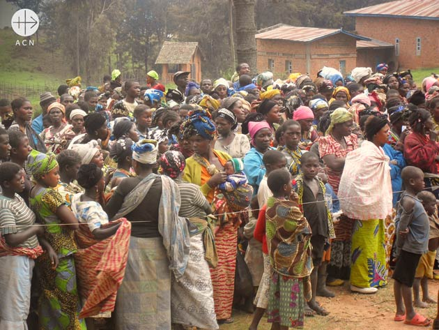 Displaced and refugees in the East of Democratic Republic of Congo