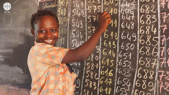 Child in School of Bangassou