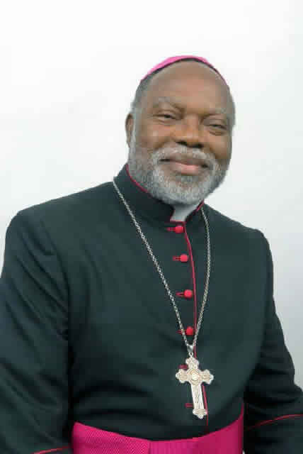 Bishop William Amove Avenya from Gboko Diocese in Nigeria