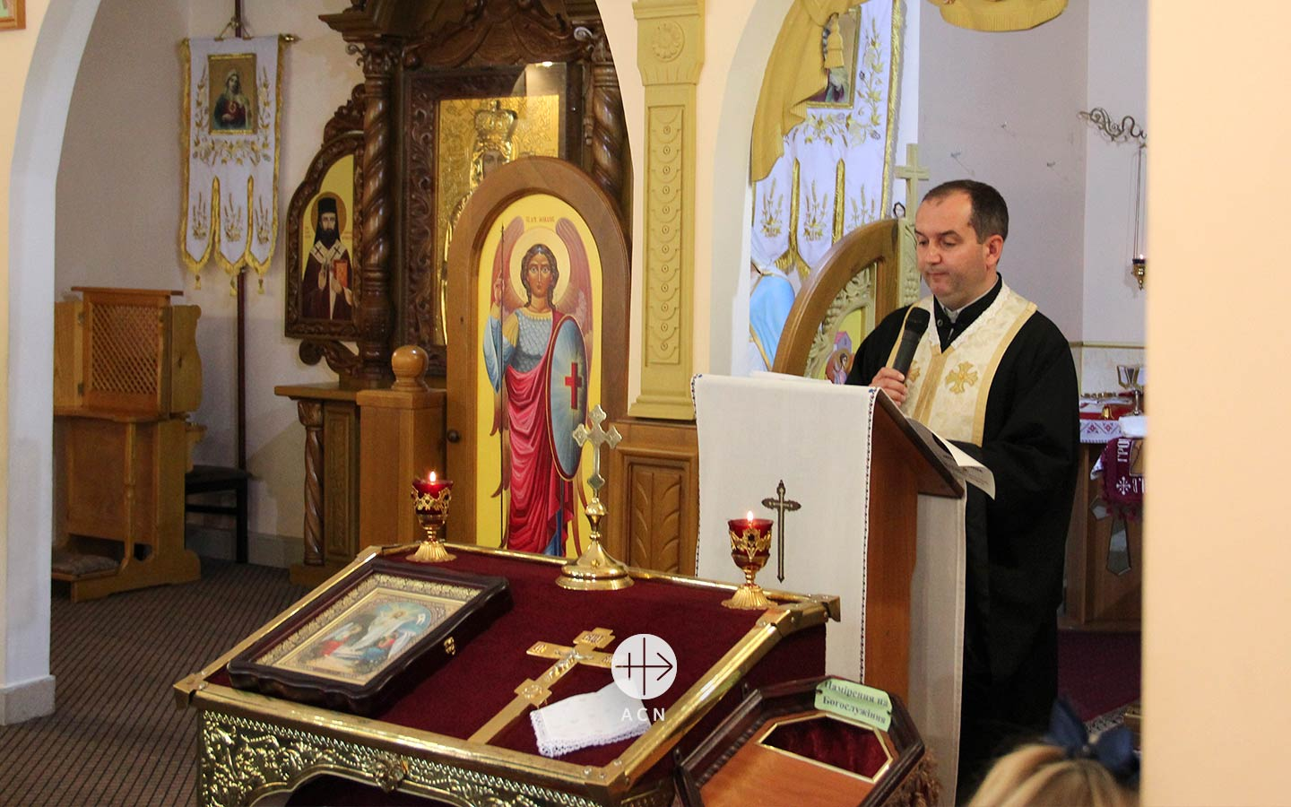 "Ukraine: ""The Church is the advocate of the people"""