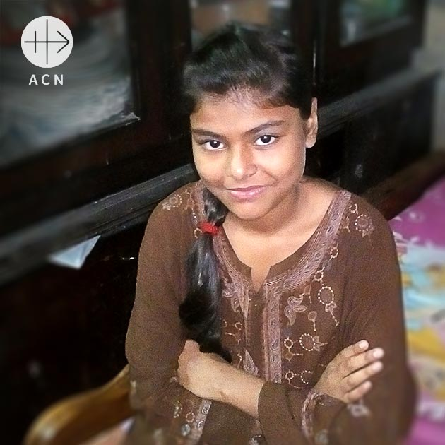 Dolly Sarwar Bhatti is an 11-years old Catholic girl