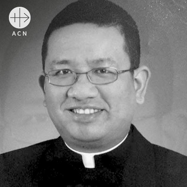 Richmond Nilo was fatally shot on the altar steps of the Church of Nueva Ecija