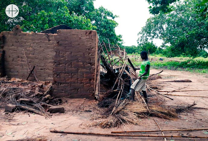 Help to rebuild two village chapels destroyed by a cyclone