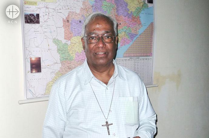 Archbishop Raphael Cheenath of the diocese Cuttak-Bhubaneshwar.