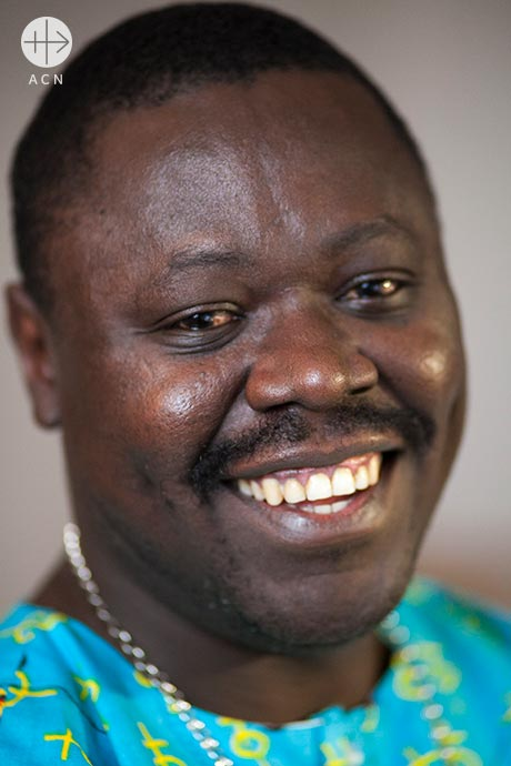 Nestor-Désiré Nongo-Aziagbia, the Bishop of Bossangoa in Central African Republic