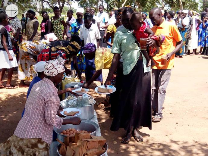 Uganda: Food distribution