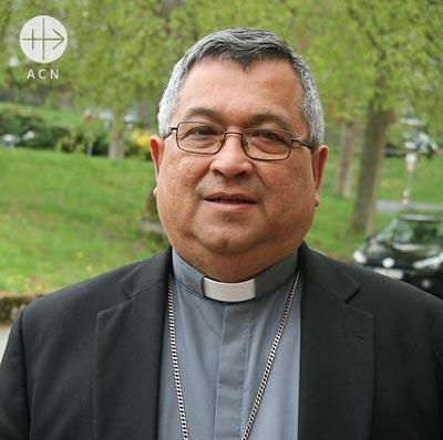 Mons. Oswaldo Azuaje, Bishop of Trujillo in Venezuela