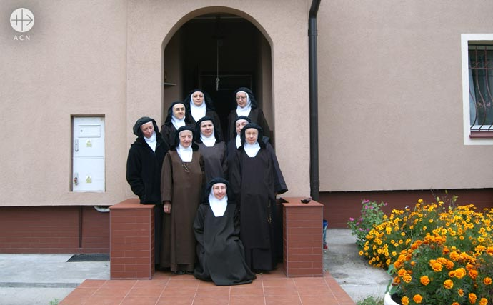 the Carmelite sisters in Kiev, Ukraine