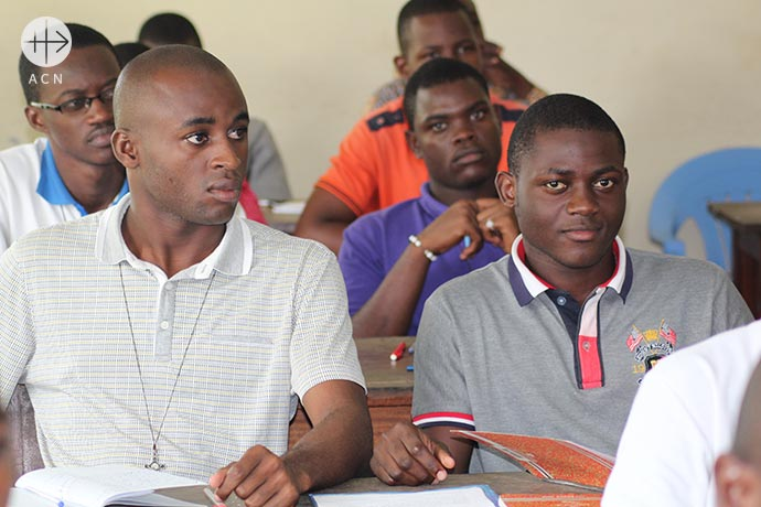 Help for the training of 83 seminarians in the Republic of Congo