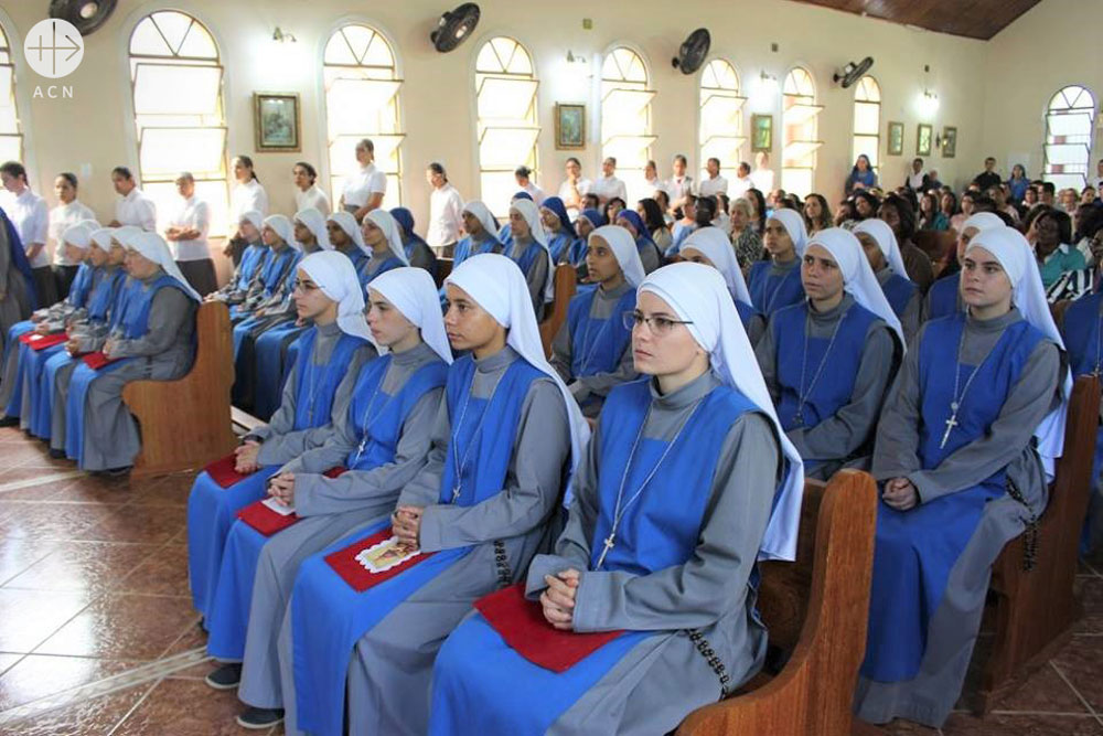 Help for the formation of 15 young religious sisters in Brazil